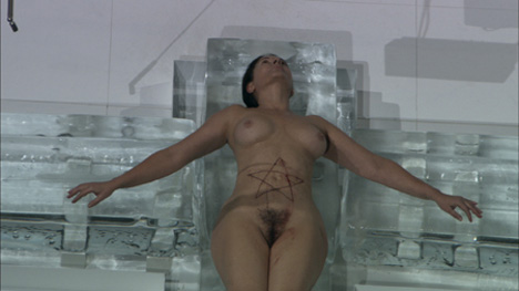 Marina Abramovic - Seven easy pieces (performance)