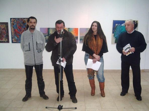Salonul artelor UAP Alba - vernisaj la galeria Forma