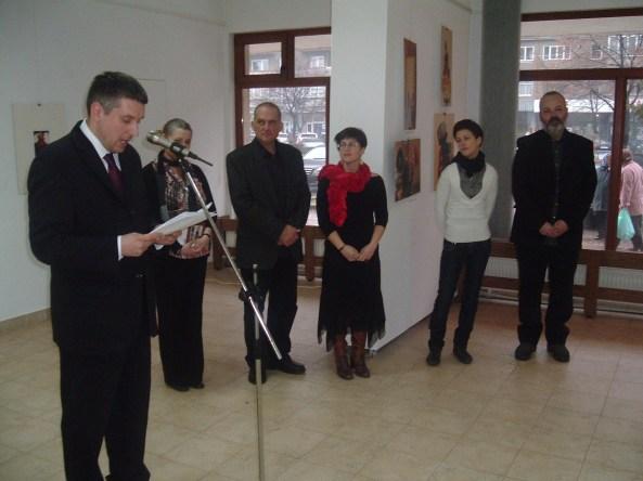 Consulul maghiar de la Cluj în deschiderea expoziţiei