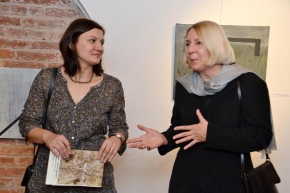 Liliana Mercioiu Popa şi Ileana Pintilie (Dar Tu? - vernisaj 15 martie 2011)