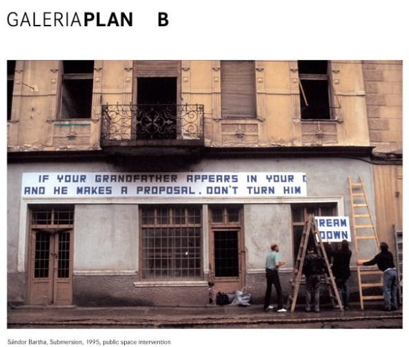Galeria Plan B - Arta românească a anilor '80 şi '90