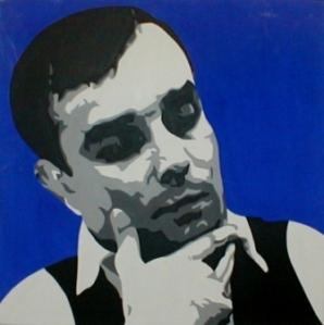 Yves Klein - portret