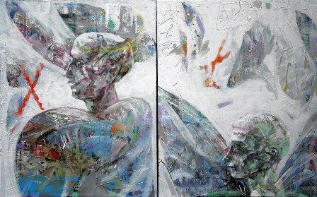 Satyricon, 2006 (acryl pe pânză, 120x80)