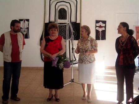 Vernisaj - Galeria Forma - expoziţie Adriana Popa (Andrei Rosetti, Adriana Popa, Doina Reghiş Ionescu, Maria Miertoiu)