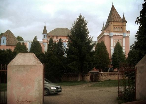 Palatul kendoffi din Sântamarie Orlea (Foto-Grigore Roibu)