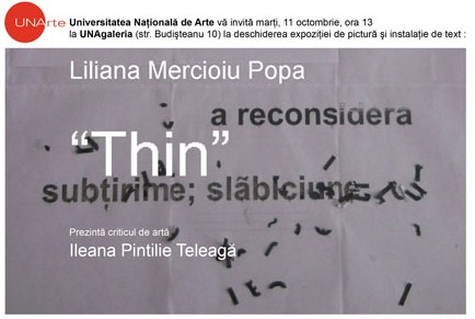Liliana Mercioiu Popa (invitaţie)