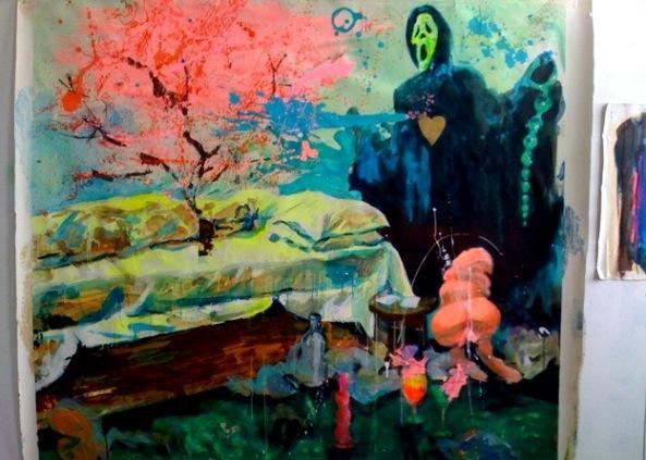 Ioana Iacob-acryl, 146x160cm-2012