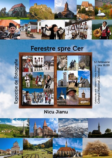 Nicu Jianu - Ferestre spre cer (afiş)