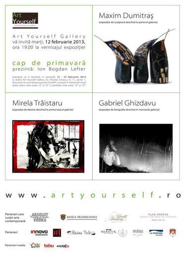 Cap de primăvară - Art Yourself Gallery