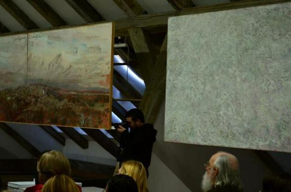 Adnotări - lecţii de pictură - Galeria Mansarda a Facultăţii de Arte şi Design Timişoara
