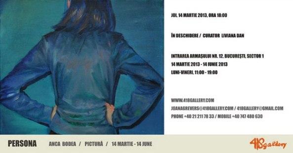 Anca Bodea-Persona 418ContemporaryArtGallery