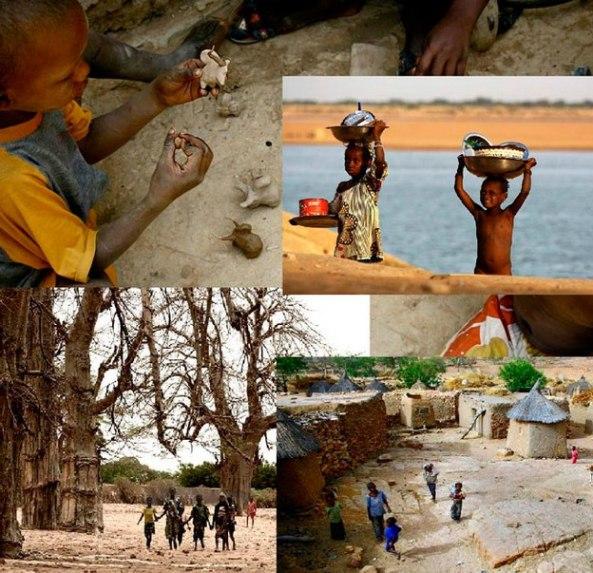 Copiii din Mali - Muzeul de ArtaTimisoara