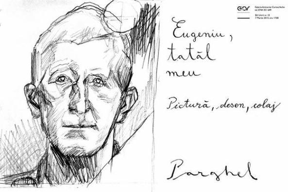 Virgiliu Parghel- Eugeniu, tatăl meu - invitatie