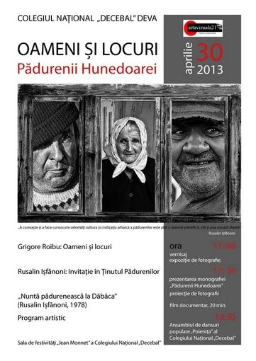Oameni si locuri - Padurenii Hunedoarei- afis