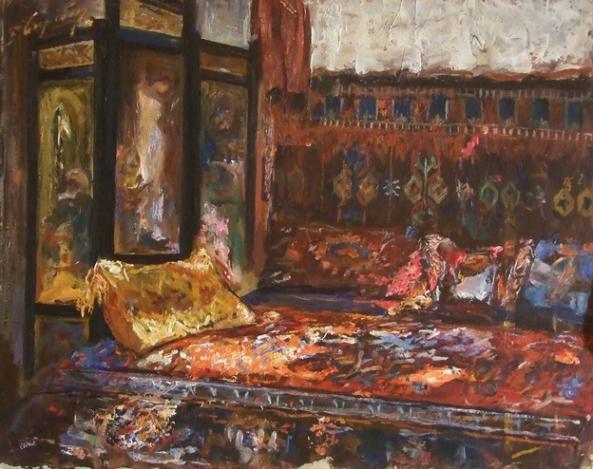 Pericle Capidan - Interior de atelier