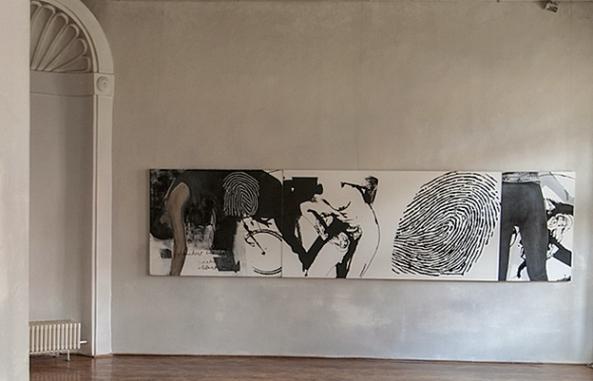 """Petru Lucaci  - """"Black-Based Cocktail"""" (Muzeul de Artă Cluj)"""