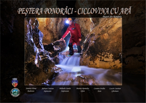 Peştera Ponorâci- Cioclovina cu apă (coperta faţă)