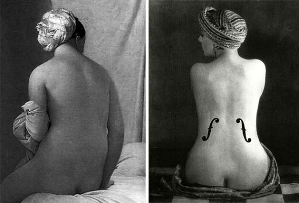 Jean-Auguste-Dominique Ingres / Man Ray