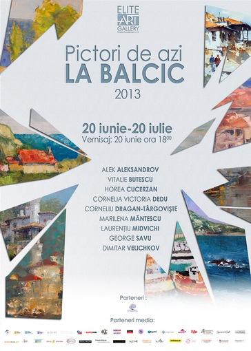 Pictori de azi la Balcic 2013
