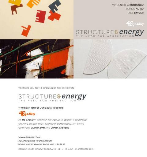 Structure & Energy. The need for abstraction