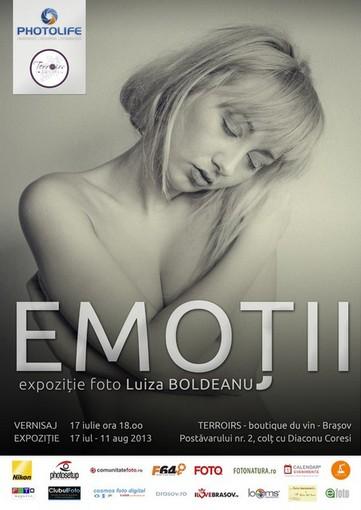 Luiza Boldeanu- Emoţii