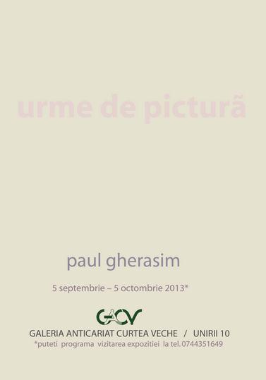 AFIS PAUL GHERASIM