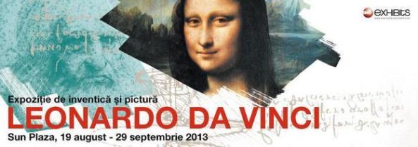 Expoziţie de inventică şi pictură Leonardo da Vinci
