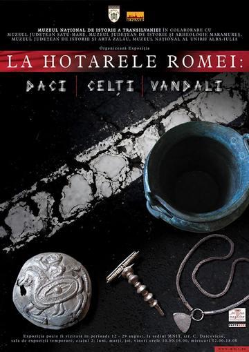 La hotarele Romei Daci, Celti, Vandali