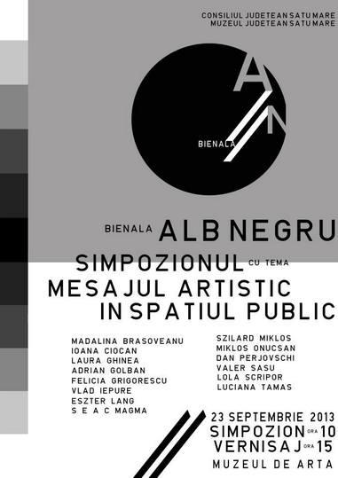 Bienala ALB-NEGRU