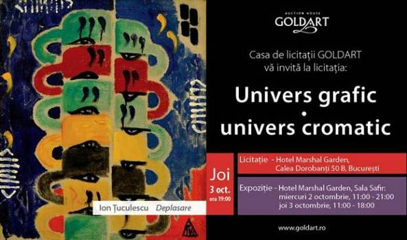 Goldart -Univers grafic – univers cromatic