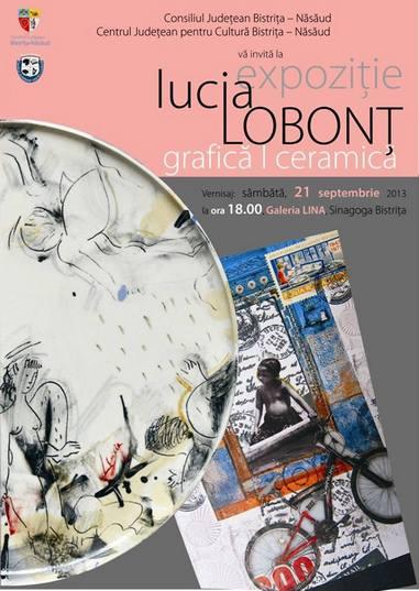 Lucia Lobonţ - ceramică  grafică