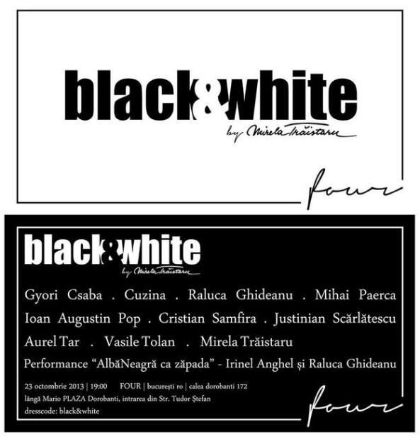 black &white de Mirela Trăistaru
