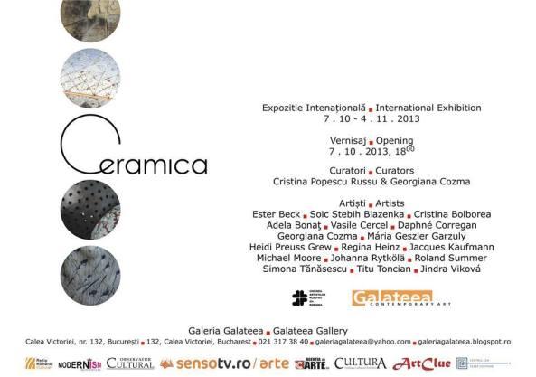 Ceramica-Galeria Galateea