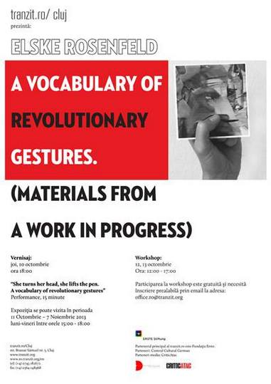 Elske Rosenfeld- Un vocabular al gesticii revoluționare