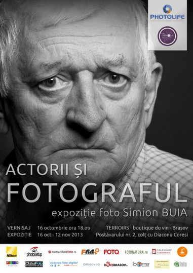 Simion Buia - Actorii-si-fotograful
