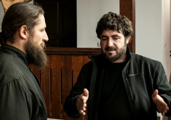 Sorin Onişor şi Părintele Pantelimon (Găbud 2013)