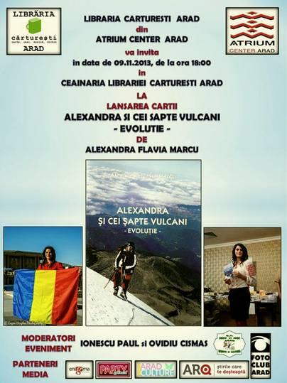 Alexandra Flavia Marcu Alexandra şi cei şapte vulcani- evoluţie