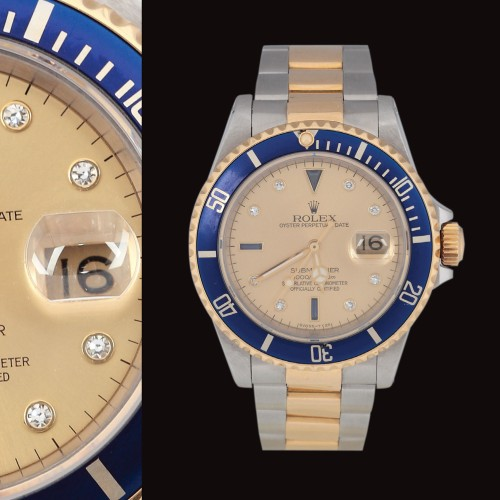 Ceasul Rolex, model Oyster Perpetual Date Submariner