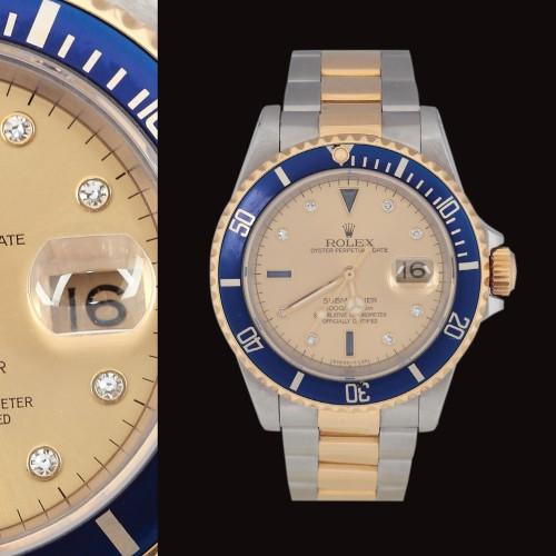 Ceasul Rolex, model Oyster Perpetual Date Submariner