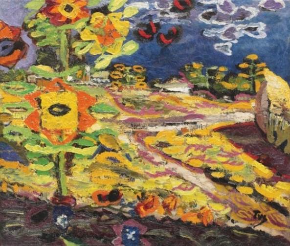 Ion Țuculescu - Floarea soarelui