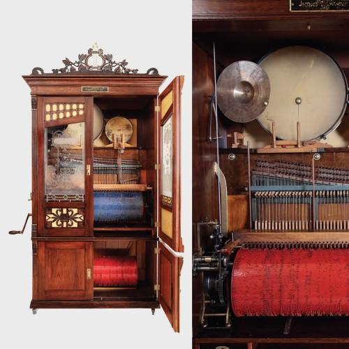 Orchestrion, atelier austriac, sfârșitul secolului al XIX-lea
