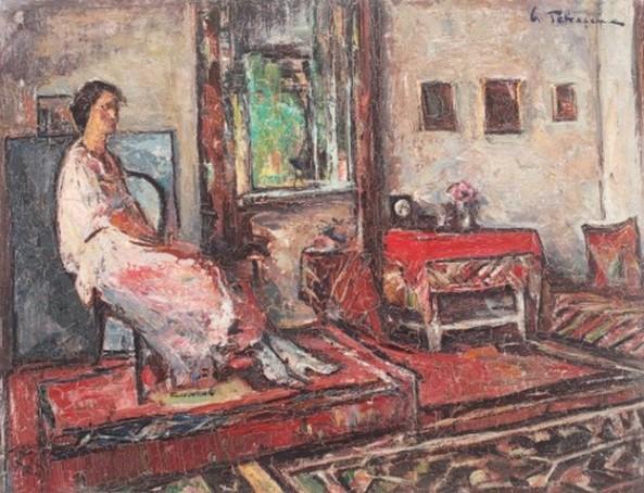 Gheorghe Petrșcu- Lucreția în interior