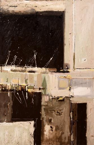 Marek Batorski|Minor mood (2013, ulei/pânză,150x100 cm)