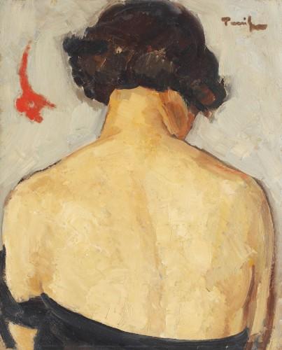Nicolae Tonitza - Nud cu spatele