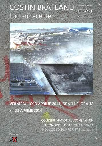 1. COSTIN BRATEANU - Lucrari recente - Galeria Logart print