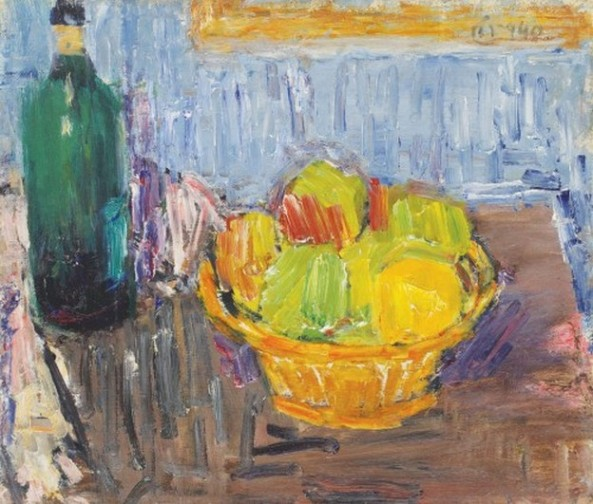Alexandru Ciucurencu - Coș cu fructe