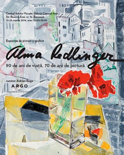 Alma Redlinger - afis