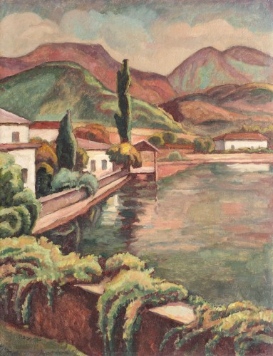 Camil Ressu - Pe malul Siretului