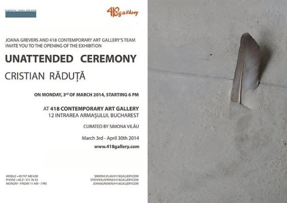 Cristian Raduta - Unattended Ceremony