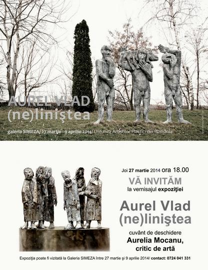 Invitatie Aurel Vlad